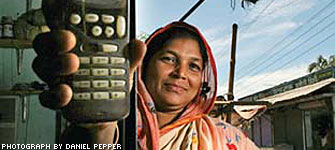 Bangladesh Phone Lady