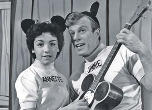 Annette Funicello and Jimmie Dodd, fans' favorite mouseketeers. | Photograph courtesy of Everett Collection (Mickey Mouse Cub)