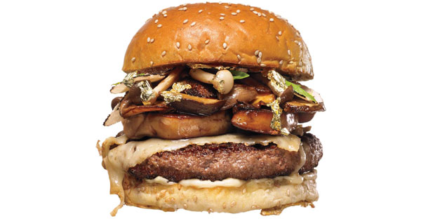 Chef Kevin O'Connell's $175 burger he serves at New York's Wall Street Burger Shoppe