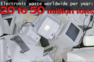 The Global Electronic Waste Problem