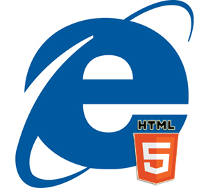 Explorer and HTML5 logos