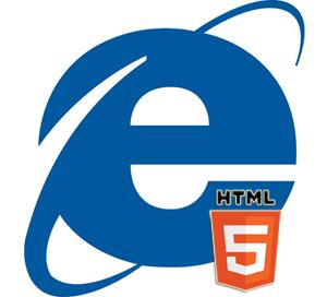 Explorer and HTML5 logos