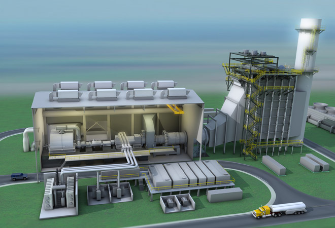 power plant illustration