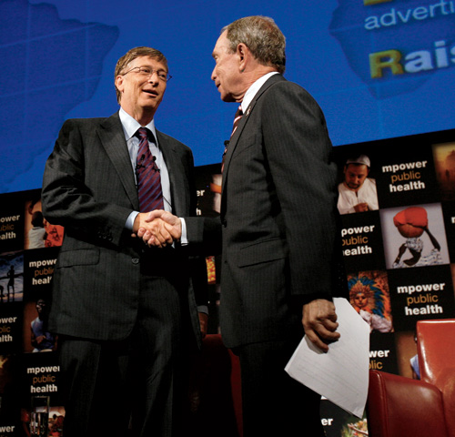 Bill Gates's foundation may be larger, but Bloomberg aims to be just as effective. | Photo by Shannon Stapleton/Reuters