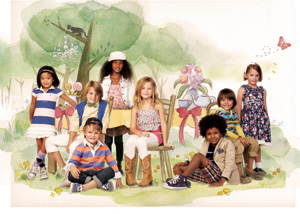 A shoppable, online children's storybook, the RL Gang, has led to a 300% increase in sales of kids' clothes