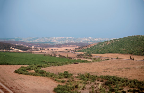In the Bible, the Valley of Elah is the site of the battle between david and goliath. today, it's the site of a battle between IEI and the environmen­talists who want to preserve its beauty