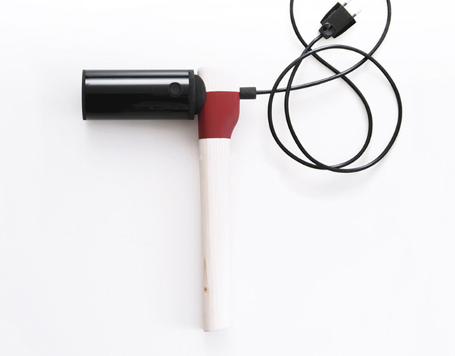 Hair Dryer Design ~ A hair dryer that speaks volumes about current design
