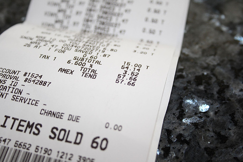 Whole Foods Bpa Free Receipts