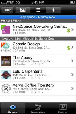 LiquidSpace app