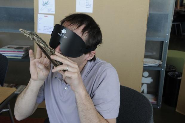 blindfolding exercise