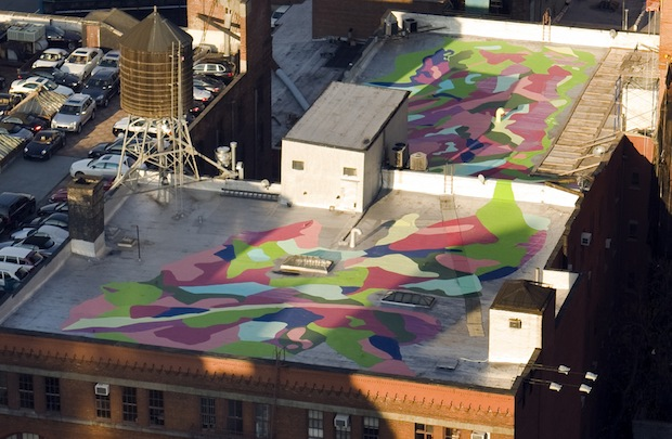 Dilworth rooftop painting