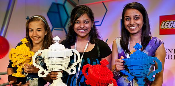 winner in Google's online science fair