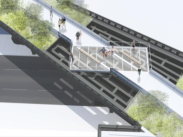 New York High Line park