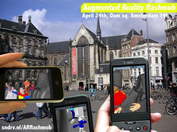 AR flashmob