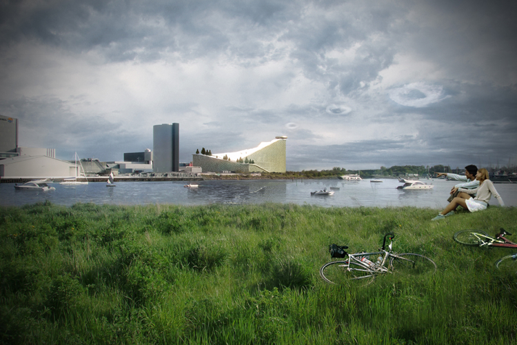 Exclusive Bjarke Ingels To Build A Combo Ski Slope And