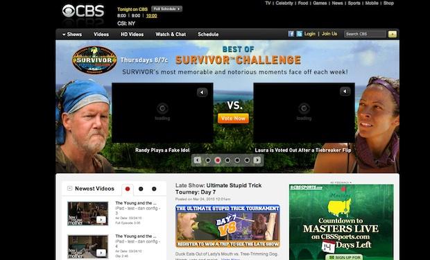 CBS ipad