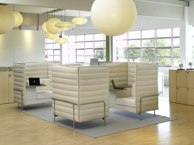 Vitra 39 s new office furniture blurs line between work and for New office design concept