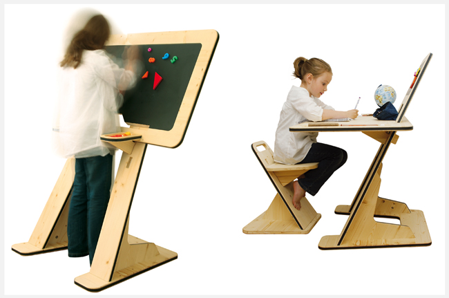 Simple Genius A Desk That Grows With Your Kid CoDesign  : Desk Comp <strong>Comfortable</strong> Desk Chairs from www.fastcodesign.com size 650 x 431 jpeg 140kB