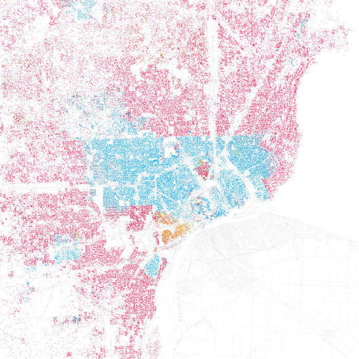 Infographic Of The Day How Segregated Is Your City