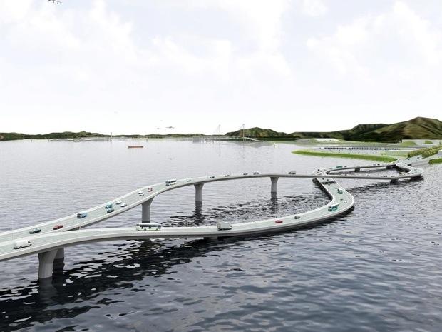 Flipper bridge