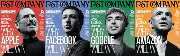 Amazon, Apple, Facebook, and Google