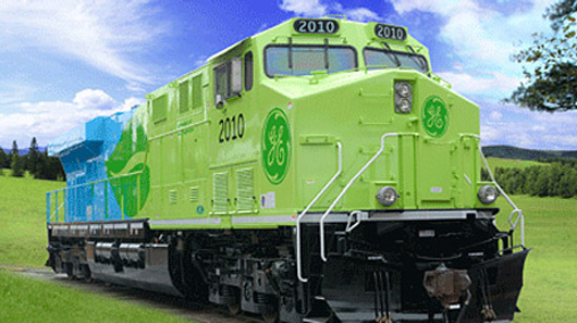 GE Ecomagination train