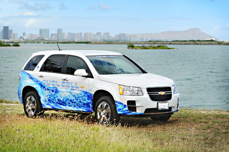 GM fuel cell vehicle