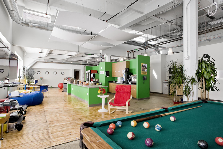 Google unveils not evil office in pittsburgh co design for Office design google