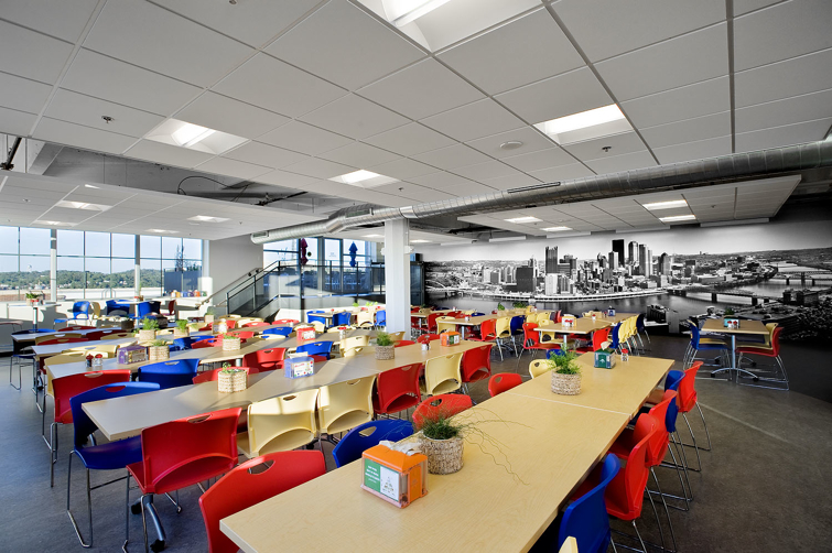 Google unveils not evil office in pittsburgh codesign for Office of google