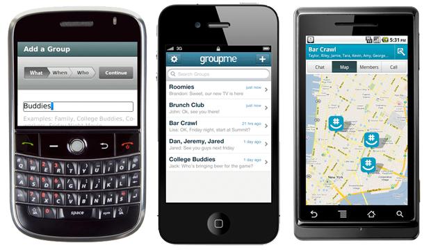 GroupMe phones