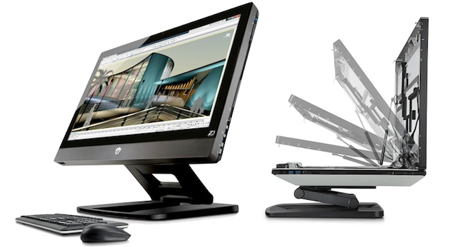 HPZ1 1 HP Z1 and the new workstation concept of all in one