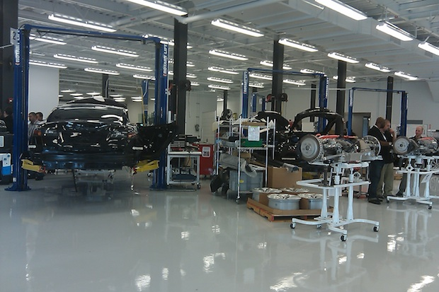 Tesla production facility