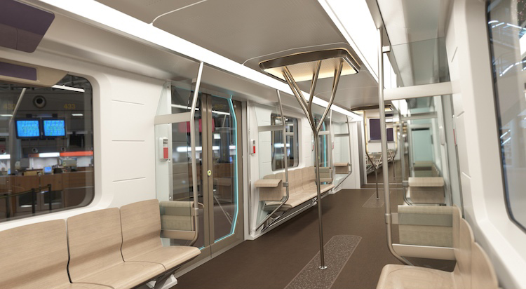 poland unveils bmw designed subway cars which are 98 recyclable co design business design. Black Bedroom Furniture Sets. Home Design Ideas