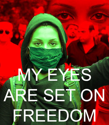 Iran Eyes on Freedom poster