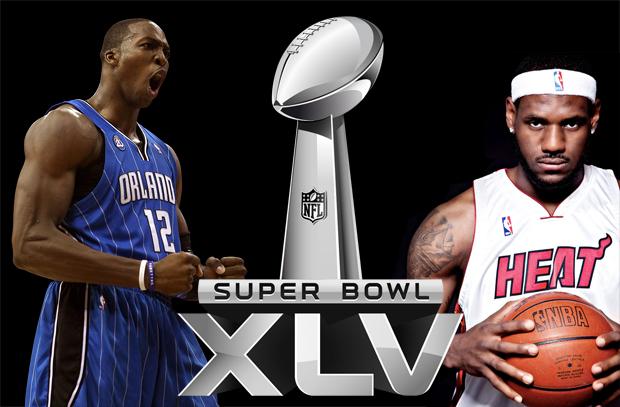 LeBron Howard Super Bowl
