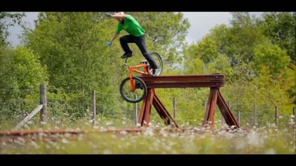 Bike Tricks Danny Macaskill We see MacAskill flub a trick