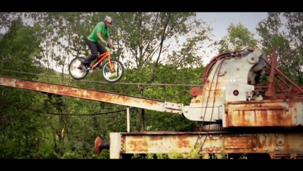Bike Tricks Danny Macaskill And then there s the rope