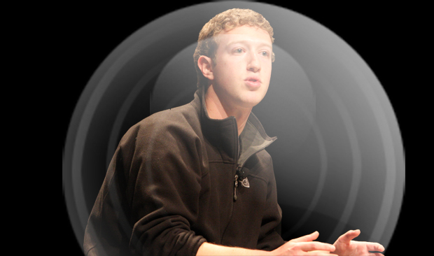 Mark Zuckerberg as Bubble Boy