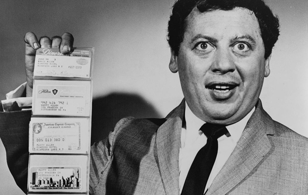 Marty Allen credit cards