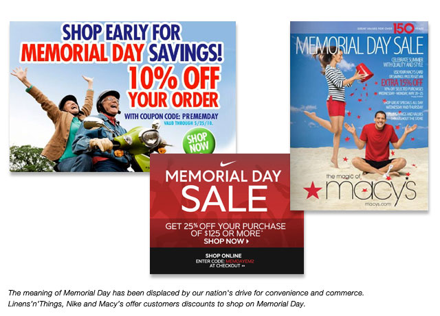 Reinventing Memorial Day: Beyond The Mattress Blowout Sale ...