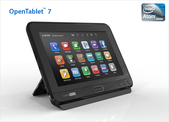 Open Tablet