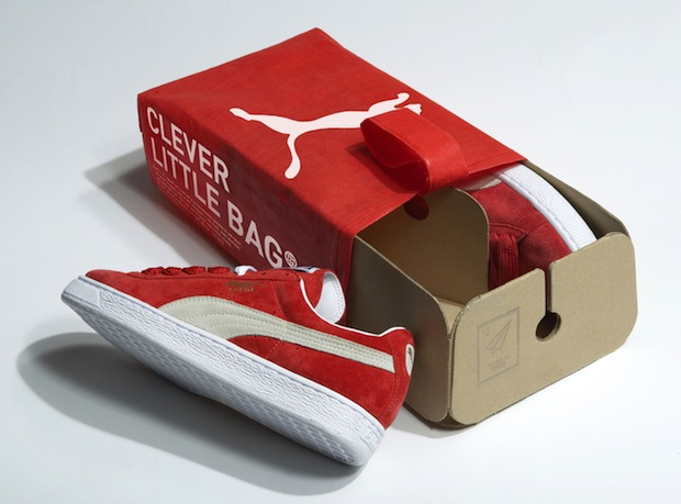 Puma's new shoe box/bag by Fuseproject