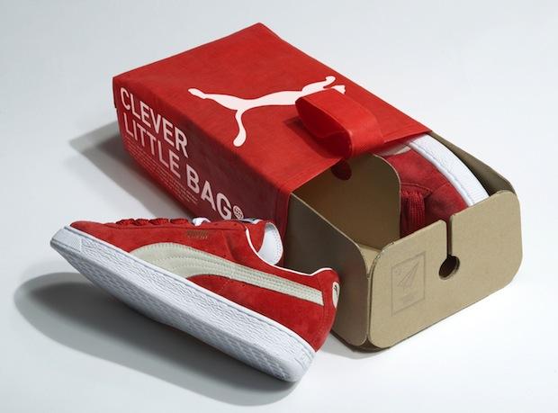 Puma's new shoe box/bag by Fuseproject