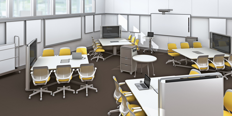 Innovative Classroom Environment : How steelcase redesigned the st century college