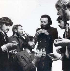Jonathan Taplin with The Band
