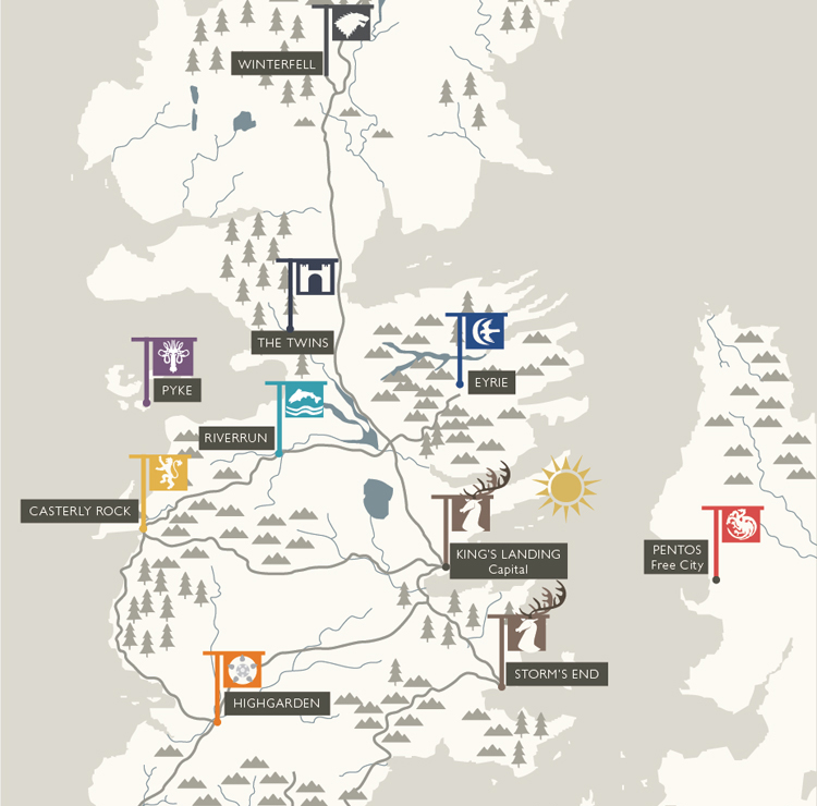 game of thrones map from book. Tagged game-of-thrones, hbo,