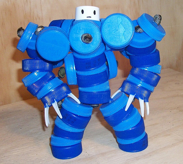 Make a Robot Out of Recycled Materials