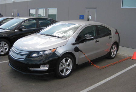 Chevy Volt hot soak test