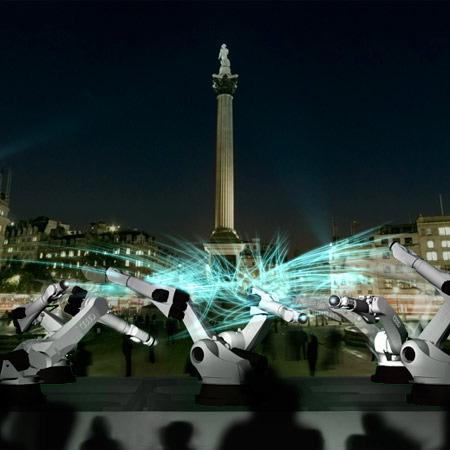 London Weisshaar installation