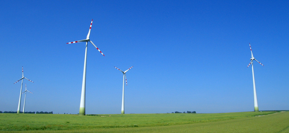 Austrian wind turbines